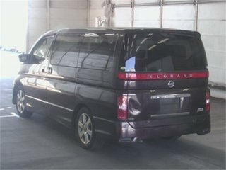 2007 Nissan Elgrand NE51 Highwaystar Purple Automatic Wagon.