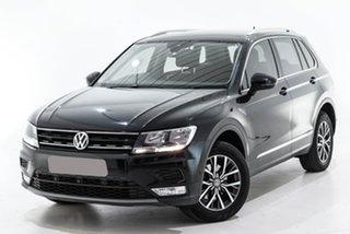 2016 Volkswagen Tiguan 5N MY17 110TDI DSG 4MOTION Comfortline Black 7 Speed.
