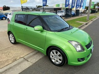 2010 Suzuki Swift RS415 RE4 Green 4 Speed Automatic Hatchback.