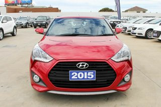 2015 Hyundai Veloster FS4 Series II SR Coupe D-CT Turbo Red 7 Speed Sports Automatic Dual Clutch