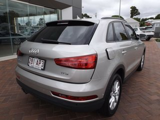 2015 Audi Q3 8U MY16 TFSI S Tronic Silver 6 Speed Sports Automatic Dual Clutch Wagon.