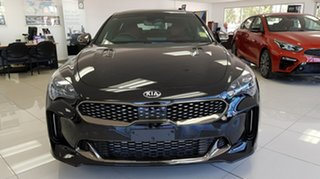 2020 Kia Stinger CK MY21 GT Fastback Aurora Black 8 Speed Automatic Sedan.