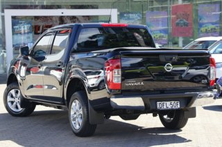 2016 Nissan Navara D23 Series II DX (4x2) Black 7 Speed Automatic Double Cab Utility.