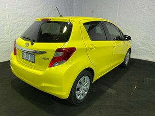 2014 Toyota Yaris NCP130R YR Yellow 4 Speed Automatic Hatchback
