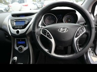 2012 Hyundai Elantra MD2 Elite Silver 6 Speed Automatic Sedan