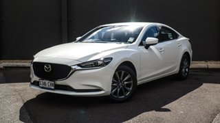 2020 Mazda 6 GL1033 Sport SKYACTIV-Drive Snowflake White 6 Speed Sports Automatic Sedan.