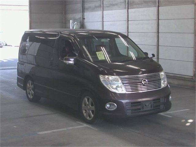 Used Nissan Elgrand Highwaystar Silverwater, 2007 Nissan Elgrand NE51 Highwaystar Purple Automatic Wagon