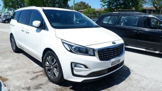 2020 Kia Carnival YP MY20 SLi White 8 Speed Sports Automatic Wagon.