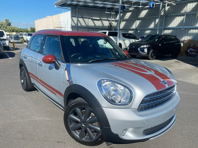 Used Mini Countryman R60 MY15 Cooper D Hillcrest, 2016 Mini Countryman R60 MY15 Cooper D Silver 6 Speed Sports Automatic Wagon