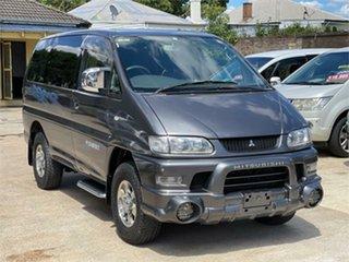 2005 Mitsubishi Delica PD6W Spacegear Chamonix Grey Automatic Van Wagon.