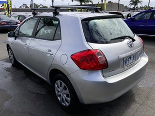 2008 Toyota Corolla ZRE152R Conquest Silver 6 Speed Manual Hatchback