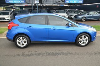 2015 Ford Focus LW MK2 MY14 Trend Blue 6 Speed Automatic Hatchback.