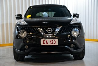 2016 Nissan Juke F15 Series 2 Ti-S 2WD Black 6 Speed Manual Hatchback.