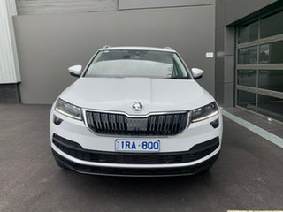 2020 Skoda Karoq NU MY20.5 110TSI DSG FWD White 7 Speed Sports Automatic Dual Clutch Wagon.
