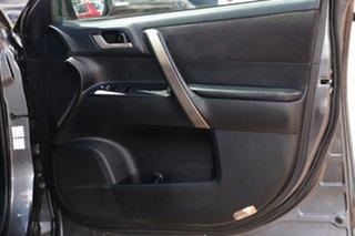 2010 Toyota Kluger GSU40R KX-R 2WD Grey 5 Speed Sports Automatic SUV