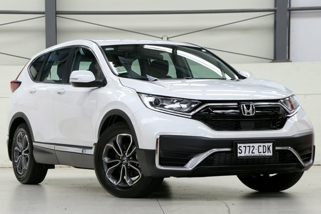 Demo Honda CR-V RW MY21 VTi FWD X Glen Osmond, 2020 Honda CR-V RW MY21 VTi FWD X Platinum White 1 Speed Constant Variable Wagon