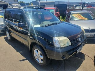 2008 Nissan X-Trail T31 ST-L Black 6 Speed Manual Wagon