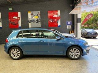 2014 Volkswagen Golf VII 90TSI Blue Sports Automatic Dual Clutch Hatchback