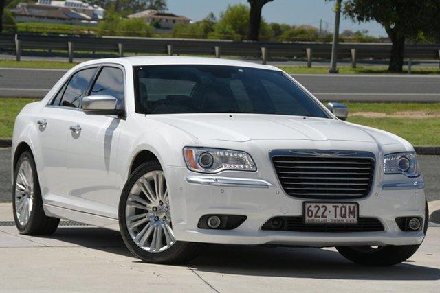 Used Chrysler 300 LX MY13 C E-Shift Luxury North Lakes, 2013 Chrysler 300 LX MY13 C E-Shift Luxury White 8 Speed Sports Automatic Sedan