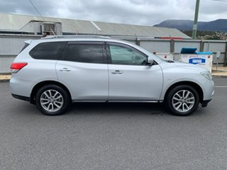 2015 Nissan Pathfinder R52 MY15 ST X-tronic 4WD Silver 1 Speed Constant Variable Wagon.