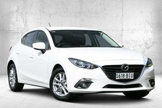 2015 Mazda 3 BM5478 Maxx SKYACTIV-Drive Snowflake White Pearl 6 Speed Sports Automatic Hatchback.