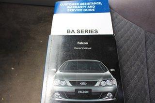 2003 Ford Falcon BA Futura White 4 Speed Sports Automatic Sedan