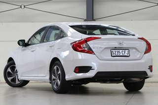 2020 Honda Civic 10th Gen MY20 VTi Platinum White 1 Speed Constant Variable Sedan.