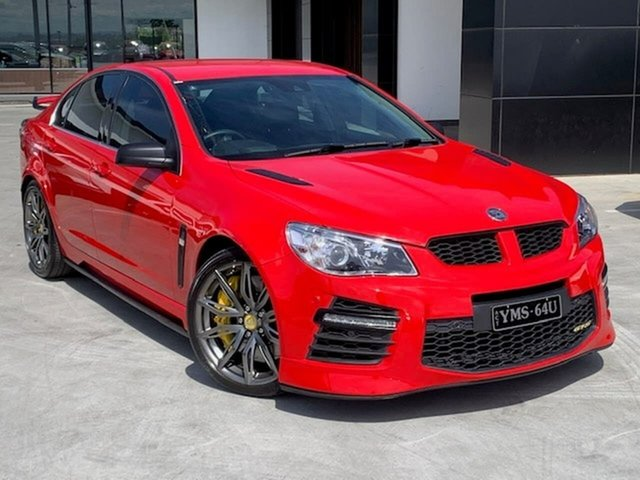 Used Holden Special Vehicles GTS Gen-F2 MY16 Liverpool, 2016 Holden Special Vehicles GTS Gen-F2 MY16 Red 6 Speed Sports Automatic Sedan