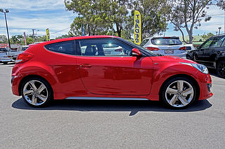 2013 Hyundai Veloster FS2 SR Coupe Turbo Boston Red 6 Speed Manual Hatchback