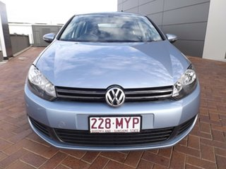 2010 Volkswagen Golf VI MY10 90TSI DSG Trendline Blue 7 Speed Sports Automatic Dual Clutch Hatchback