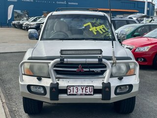2001 Mitsubishi Pajero NM Exceed Silver 5 Speed Sports Automatic Wagon