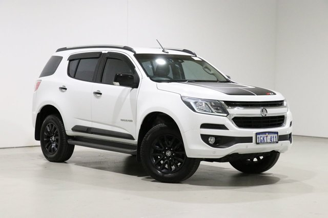 Used Holden Trailblazer RG MY18 Z71 (4x4) Bentley, 2017 Holden Trailblazer RG MY18 Z71 (4x4) White 6 Speed Automatic Wagon