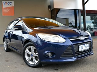 2011 Ford Focus LW Trend Blue 5 Speed Manual Hatchback.