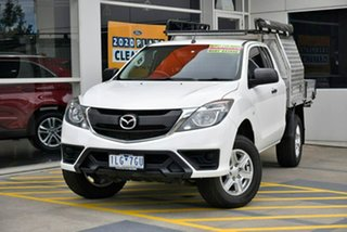 2017 Mazda BT-50 UR0YG1 XT Freestyle White 6 Speed Manual Cab Chassis