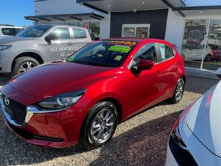 2020 Mazda 2 G15 Pure Red 6 Speed Automatic Hatchback.