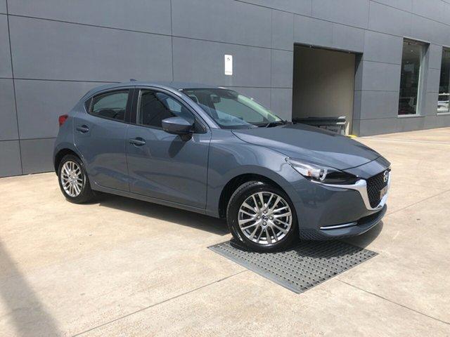 New Mazda 2 DJ2HAA G15 SKYACTIV-Drive Evolve Alexandria, 2020 Mazda 2 DJ2HAA G15 SKYACTIV-Drive Evolve Polymetal Grey 6 Speed Sports Automatic Hatchback