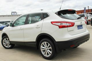 2017 Nissan Qashqai J11 ST White 1 Speed Constant Variable Wagon