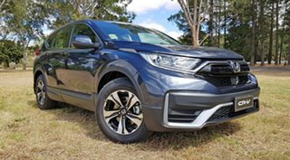 2020 Honda CR-V RW MY21 VTi FWD Cosmic Blue 1 Speed Automatic Wagon.