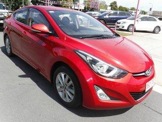 2013 Hyundai Elantra MD3 Trophy Red 6 Speed Automatic Sedan.