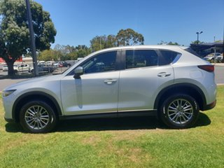 2017 Mazda CX-5 KF4WLA Touring SKYACTIV-Drive i-ACTIV AWD Sonic Silver 6 Speed Sports Automatic