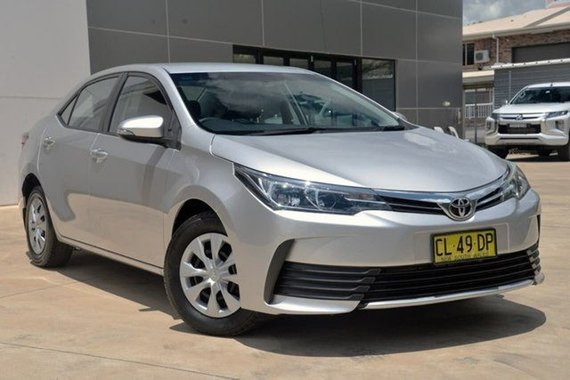 Used Toyota Corolla ZRE172R Ascent S-CVT Tuggerah, 2017 Toyota Corolla ZRE172R Ascent S-CVT Silver 7 Speed Constant Variable Sedan