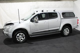 2014 Holden Colorado RG MY14 LTZ Crew Cab 4x2 Silver 6 Speed Sports Automatic Utility