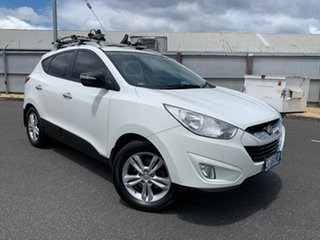 2010 Hyundai ix35 LM Elite AWD White 6 Speed Sports Automatic Wagon.