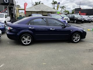 2007 Mazda 6 GG MY07 Sports Blue & Black 5 Speed Auto Activematic Sedan