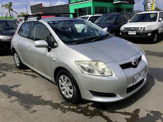 2008 Toyota Corolla ZRE152R Conquest Silver 6 Speed Manual Hatchback.