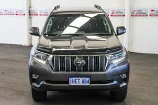 2020 Toyota Landcruiser Prado GDJ150R GXL Graphite 6 Speed Sports Automatic Wagon.