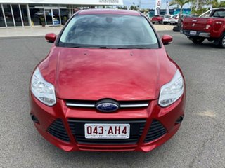 2013 Ford Focus LW MkII Trend PwrShift Red 6 Speed Sports Automatic Dual Clutch Sedan