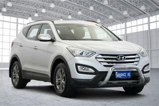 2014 Hyundai Santa Fe DM MY14 Active Silver 6 Speed Sports Automatic Wagon.