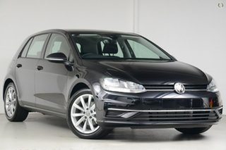 2020 Volkswagen Golf 7.5 MY20 110TSI DSG Comfortline Black 7 Speed Sports Automatic Dual Clutch.
