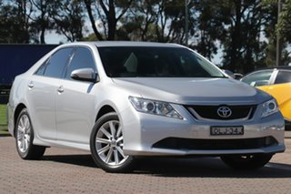 2016 Toyota Aurion GSV50R AT-X Silver/cert 6 Speed Sports Automatic Sedan.
